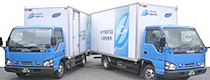 地球環境にも配慮した トラックの導入でCO2削減